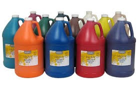 Little Masters Washable Tempera Paint - Choice of colors - 1 Gallon