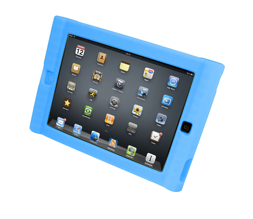Kids Protective Case for iPad - 4 Colors Available