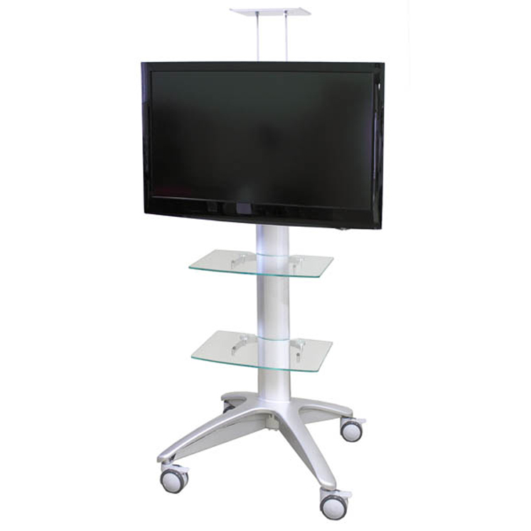 Buhl Rolling Flat Panel TV Stand - Holds 37