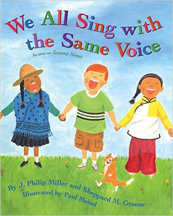 We All Sing with the Same Voice - Paperback