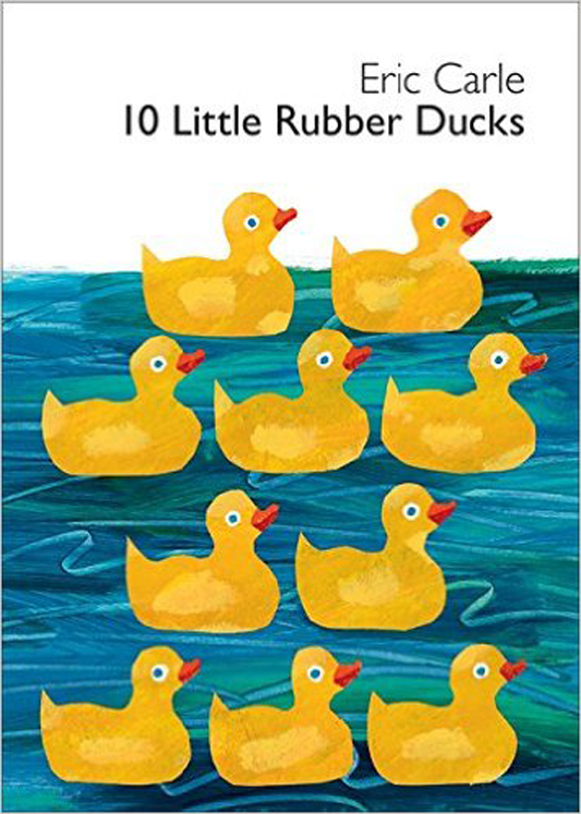 10 Little Rubber Ducks By Eric Carle - Hardcover
