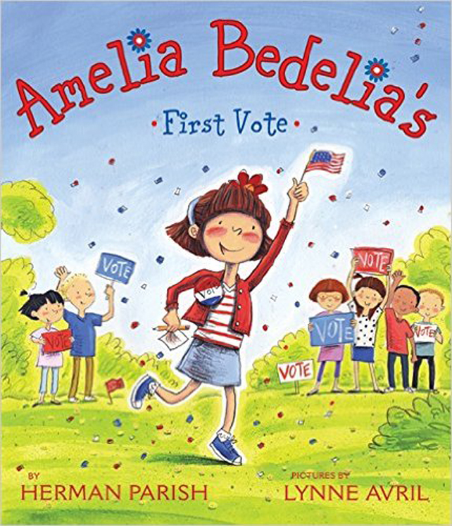 Amelia Bedelia's First Vote - Hardcover Book