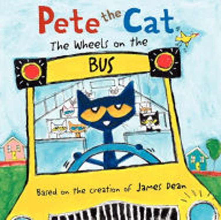 Pete the Cat: The Wheels on the Bus - Hardcover