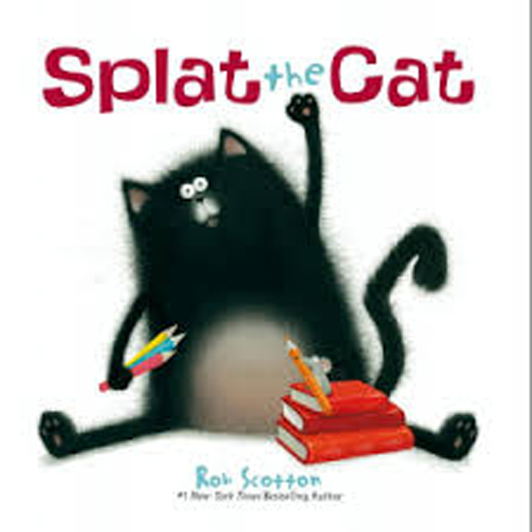 Splat the Cat - Board Book