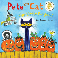 Pete the Cat Five Little Pumpkins - Hardcover Book