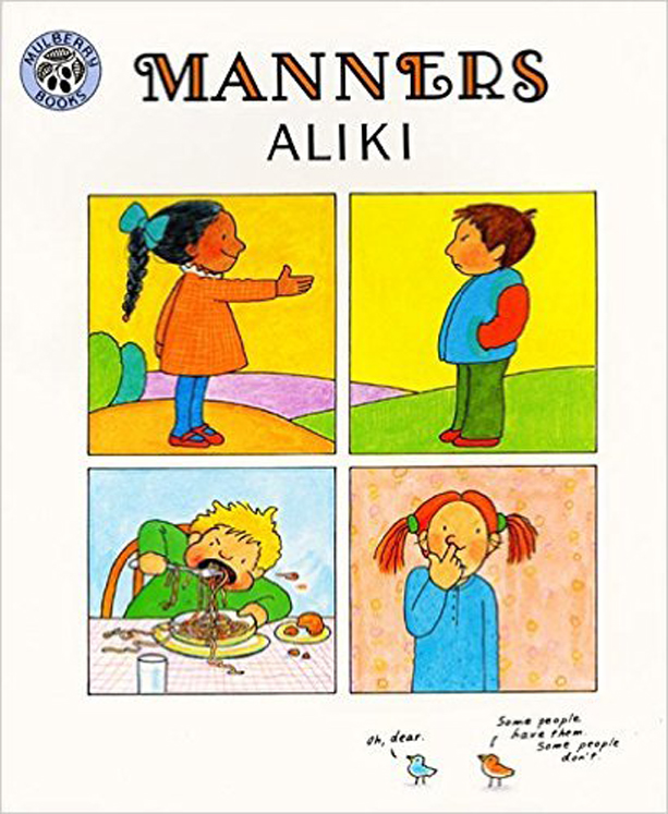 Manners By Aliki - Paperback