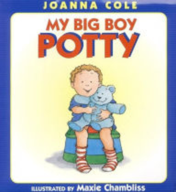 My Big Boy Potty - Hardcover