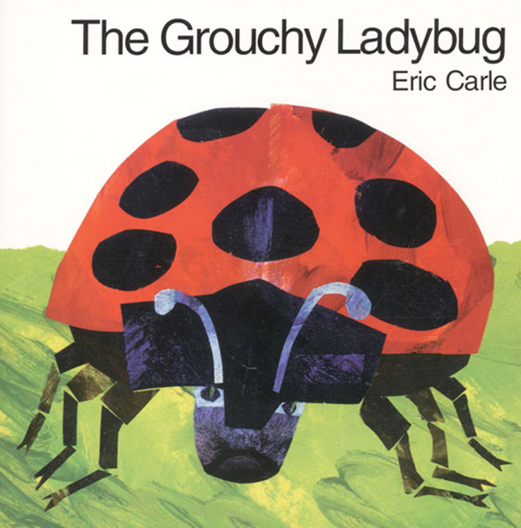 The Grouchy Ladybug - Board Book