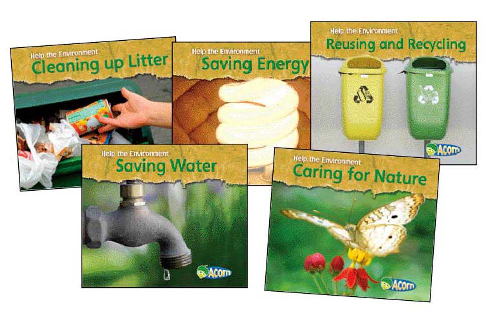 Help the Environment Book Set - Set of 5