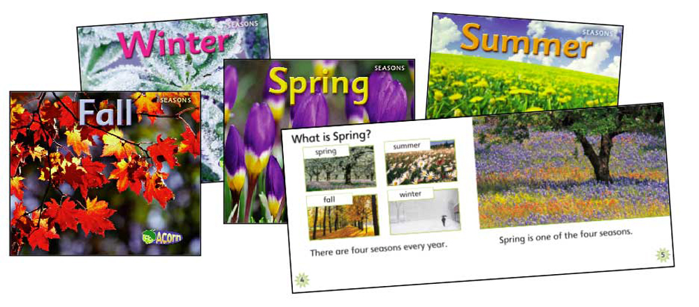 Seasons Book Set - Set of 4