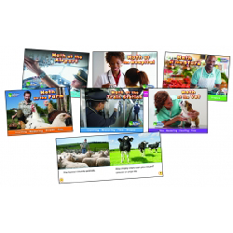 Math on the Job Book Set - Set of 6 Books
