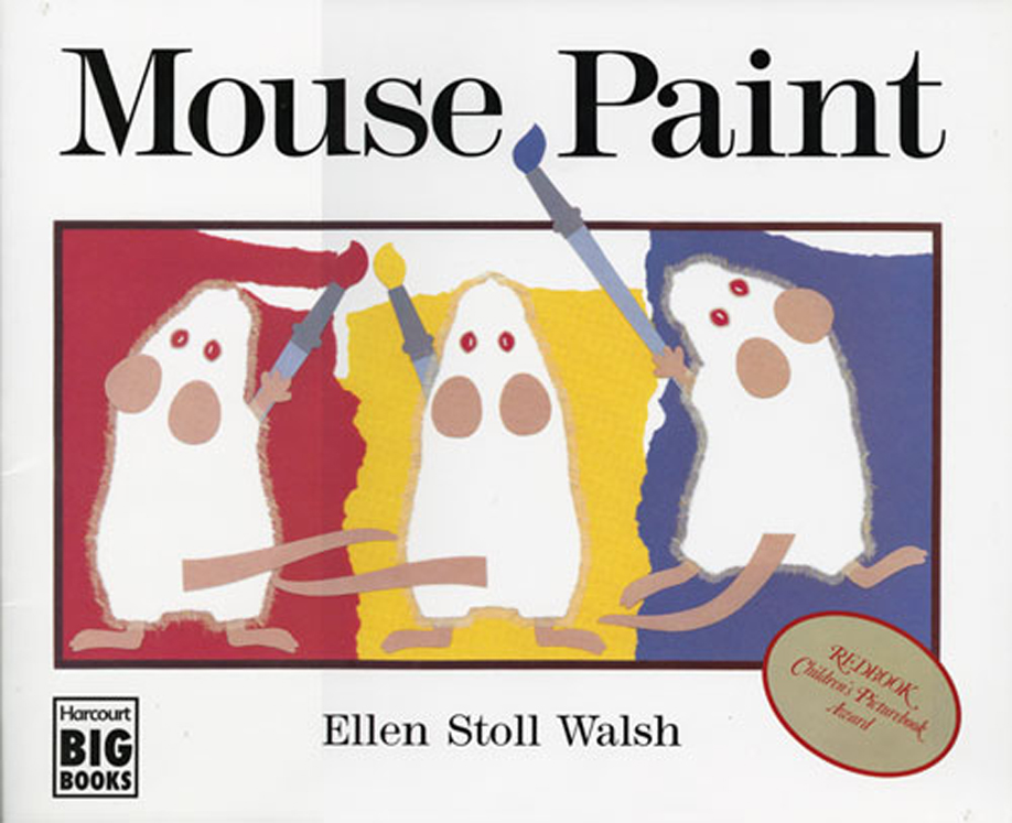 Mouse Paint Paperback Book