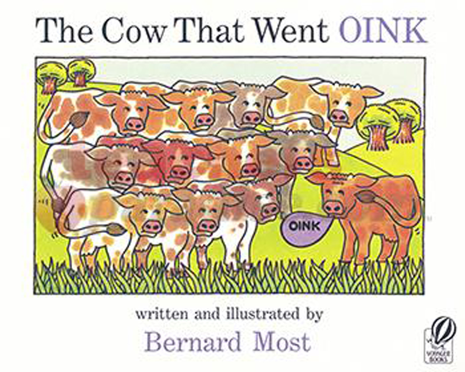 The Cow that went Oink - Big Book