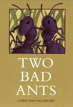 Two Bad Ants Hardcover Book