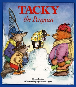Tacky the Penguin Paperback Book