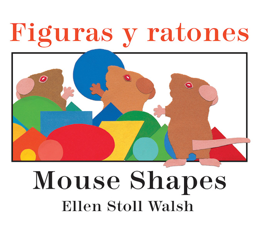 Figuras y ratones / Mouse Shapes Bilingual - Board Book