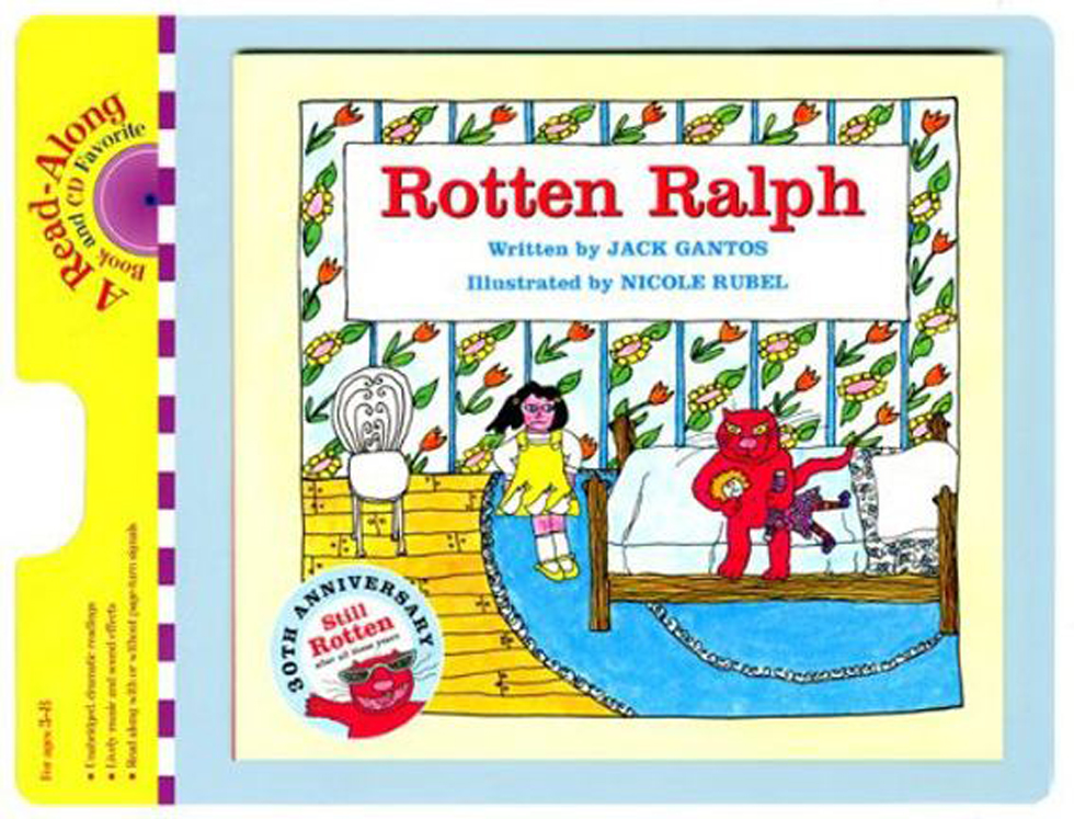 Carry Along Book & CD, Rotten Ralph