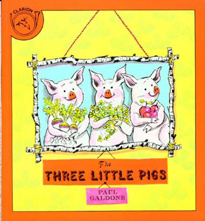 The Three Little Pigs - Big Book