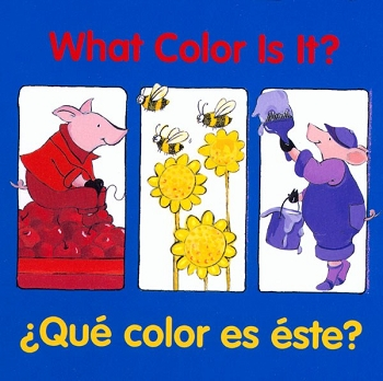 Good Beginnings Bilingual Board Book: What Color is it? / Que Color Es Este?