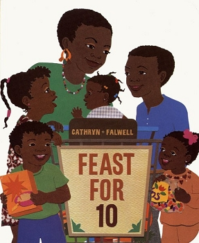 Feast for 10 Board Book