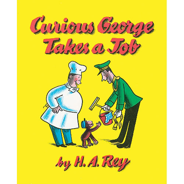 Carry Along Book & CD, Curious George Takes a Job