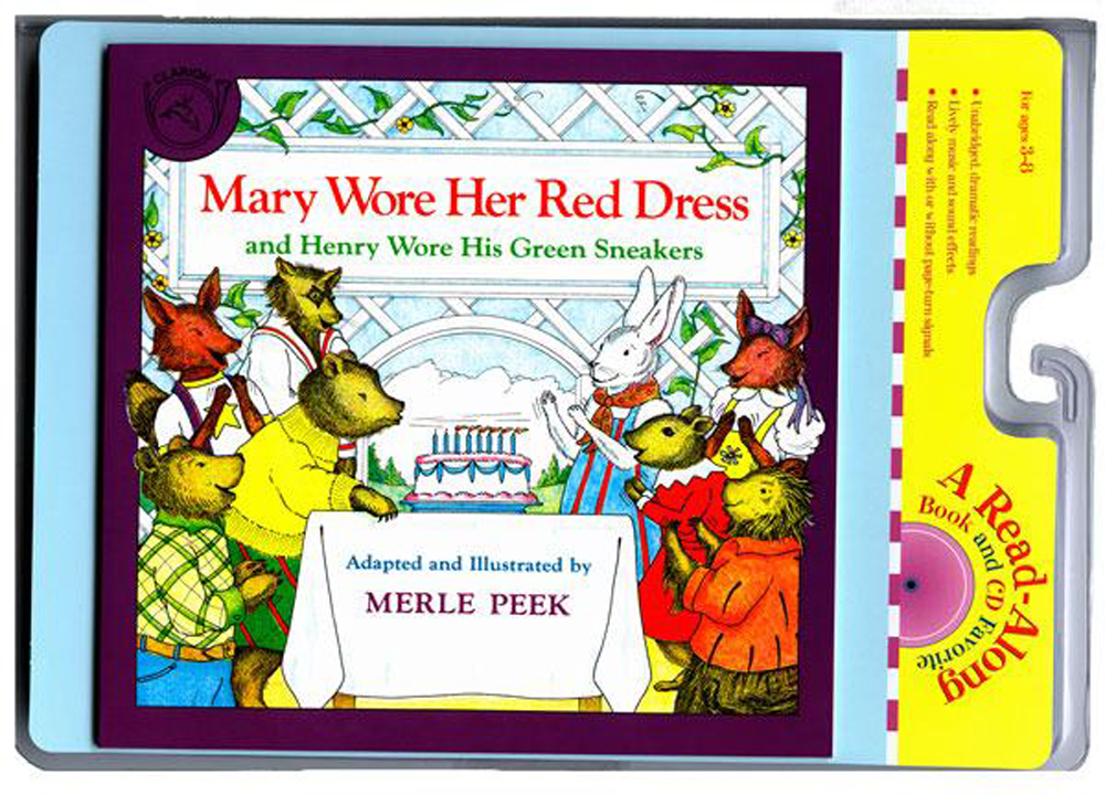Carry Along Book & CD, Mary Wore Her Red Dress