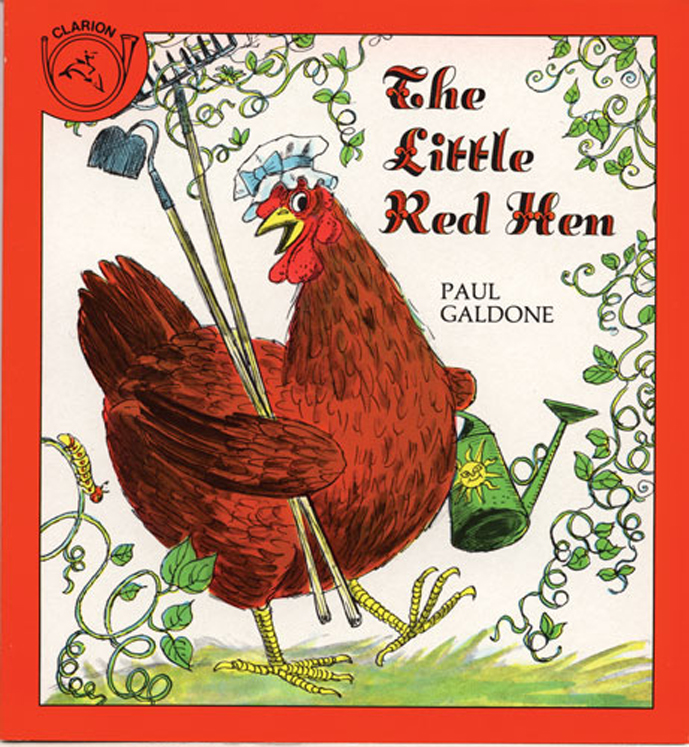 Carry Along Book & CD, The Little Red Hen