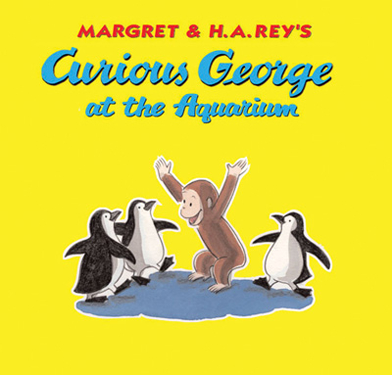 Curious George at the Aquarium Paperback