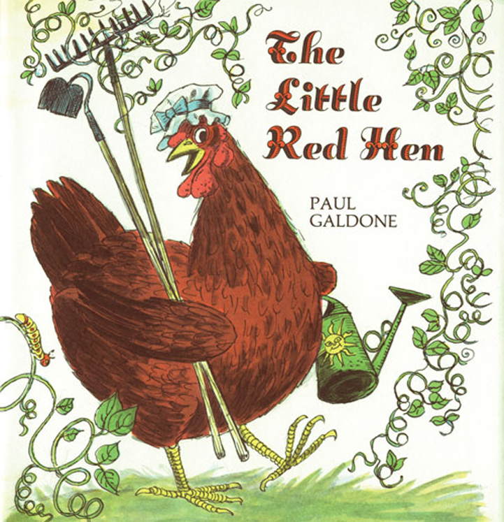 The Little Red Hen - Big Book