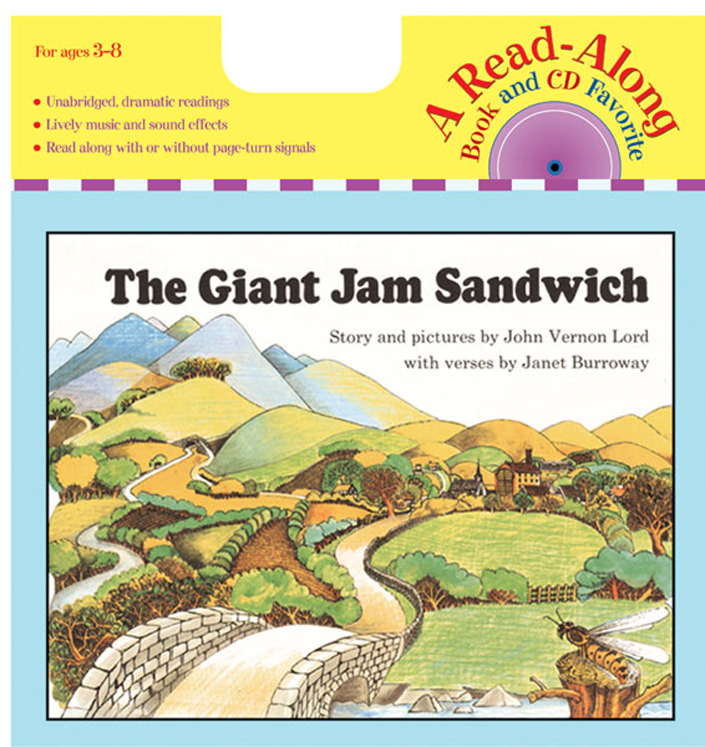Carry Along Book & CD, The Giant Jam Sandwich