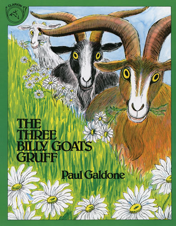 Carry Along Book & CD, The Three Billy Goats Gruff