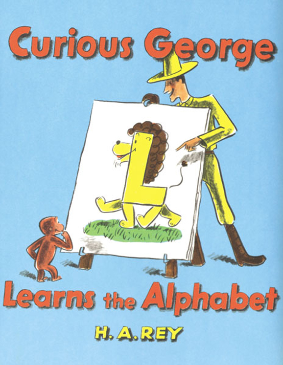 Carry Along Book & CD, Curious George Learns the Alphabet