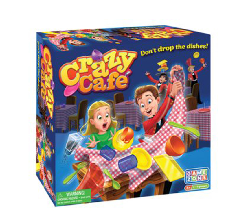 Crazy Cafe Game