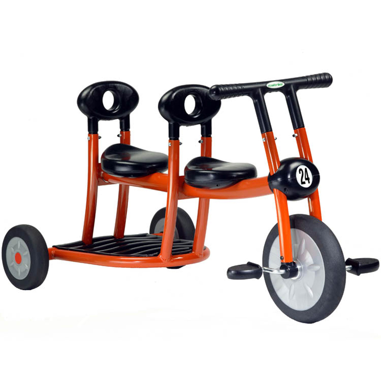 ItalTrike Orange Tricycle - 2 Seat
