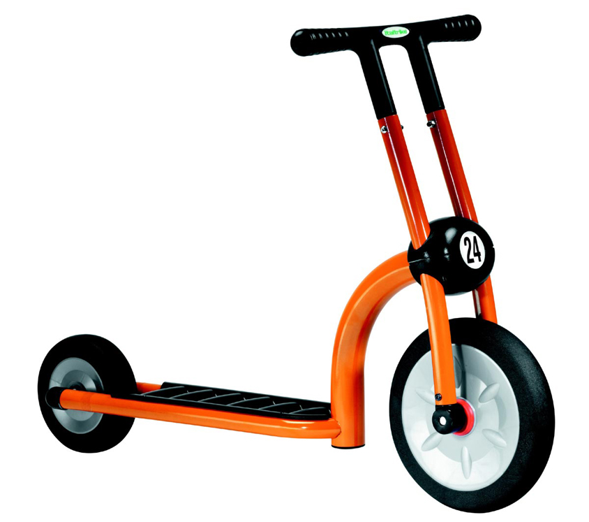 ItalTrike Orange Scooter