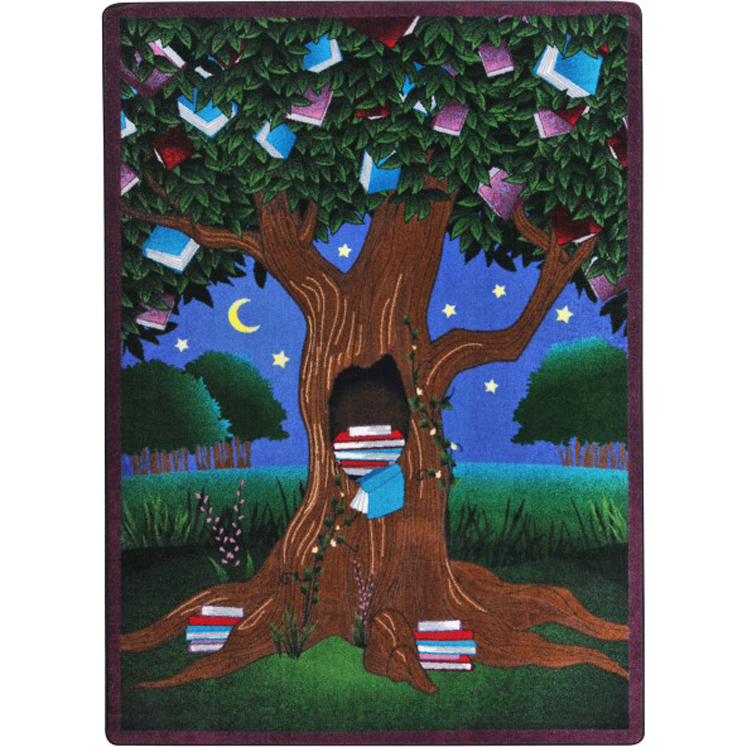 Reading Tree Children's Rug