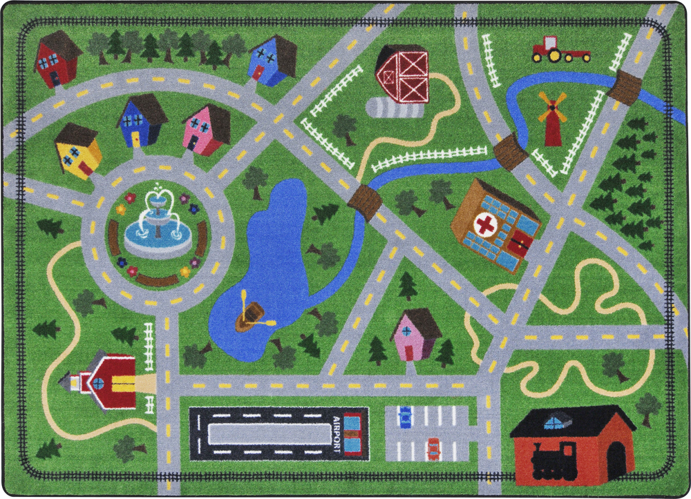 Neighborhood Explorer Rug - Multiple Sizes