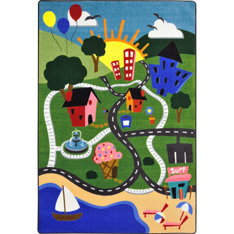 Happy Town Rug - Multiple Sizes