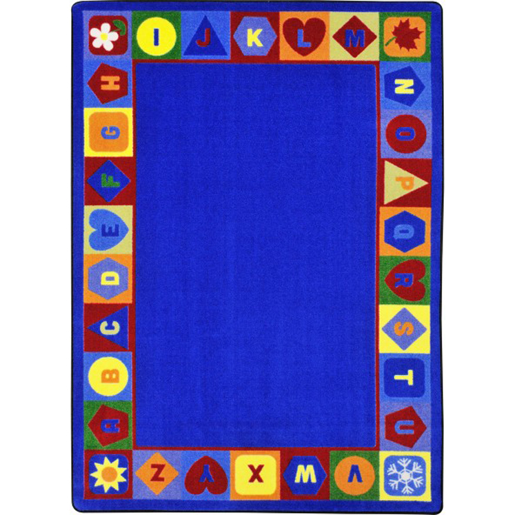 Seasons & Shapes Alphabet Rug - Multiple Sizes