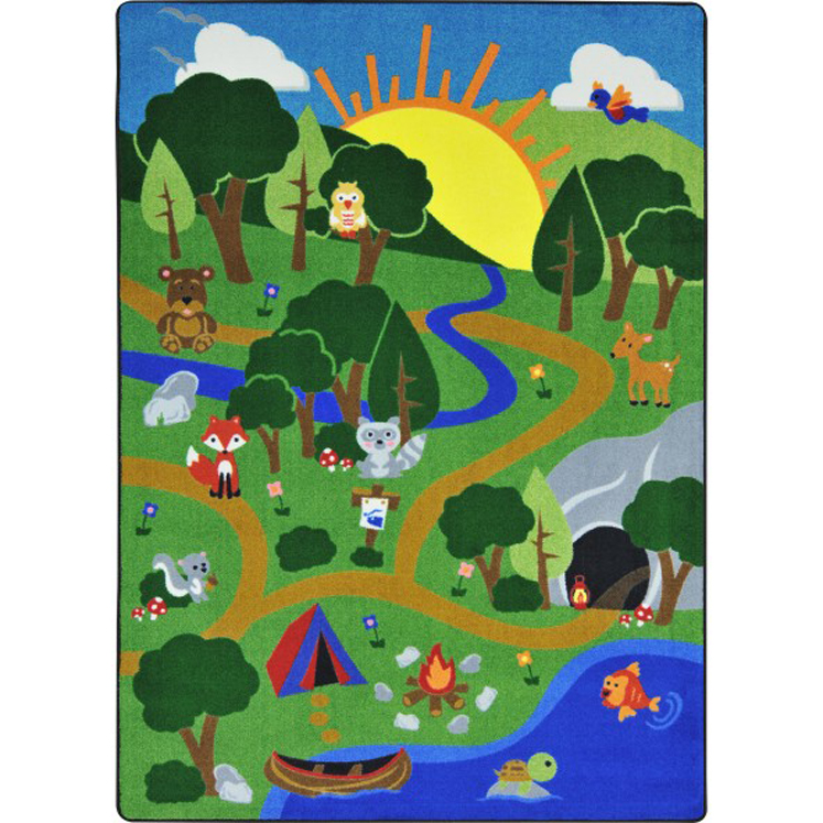 Happy Forest Rug - Multiple Sizes Available