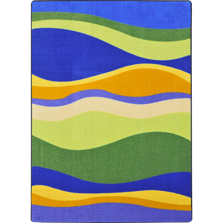 Riding Wave Children's Rug - Multiple Sizes Available