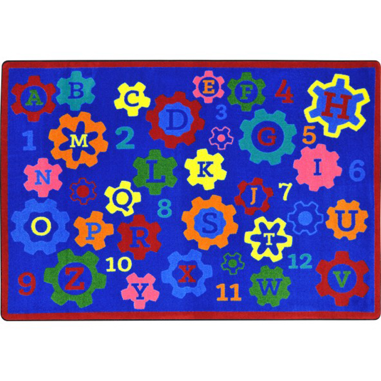 Geared for Learning Rug - Multiple Sizes