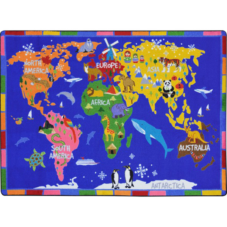 World of Wonders Rug - Multiple Sizes