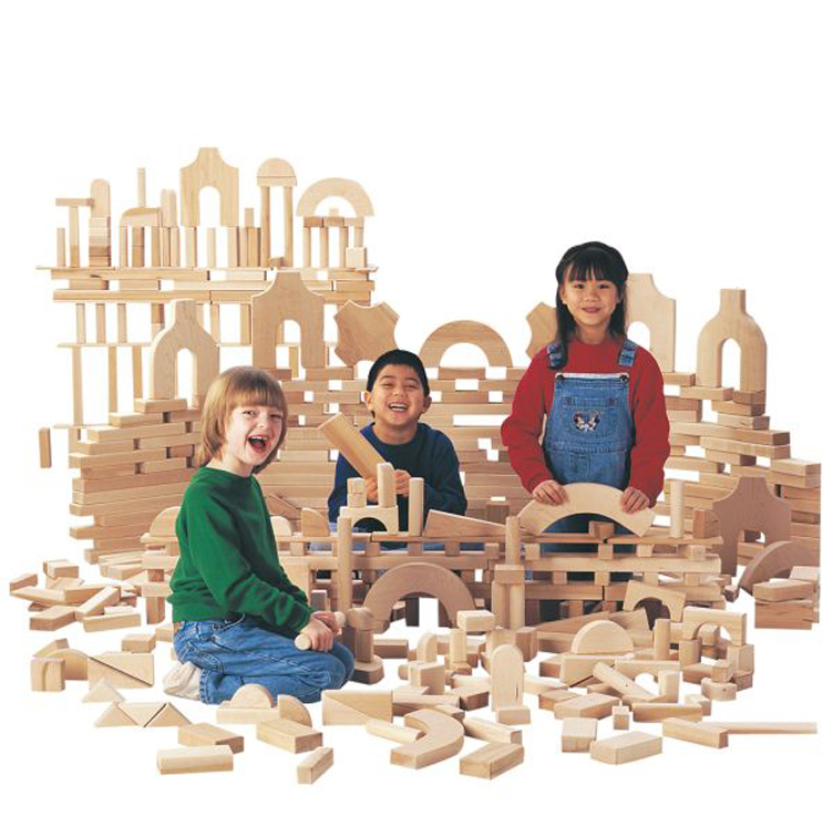 Unit Blocks - Small Classroom Set - 340 Pieces - 29 Shapes
