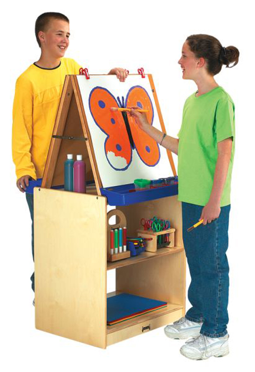 2 Station Easel - School Age