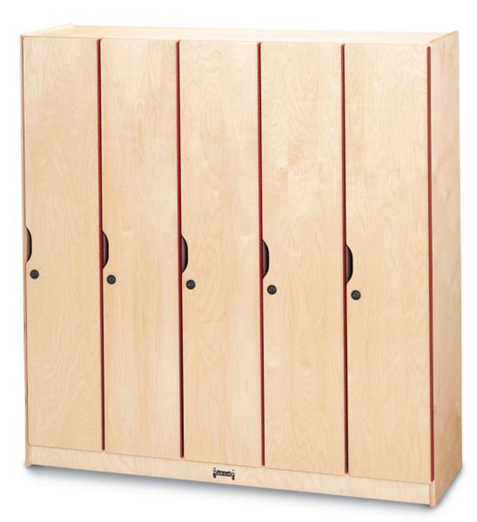 Lockers with Doors- 5 Sections