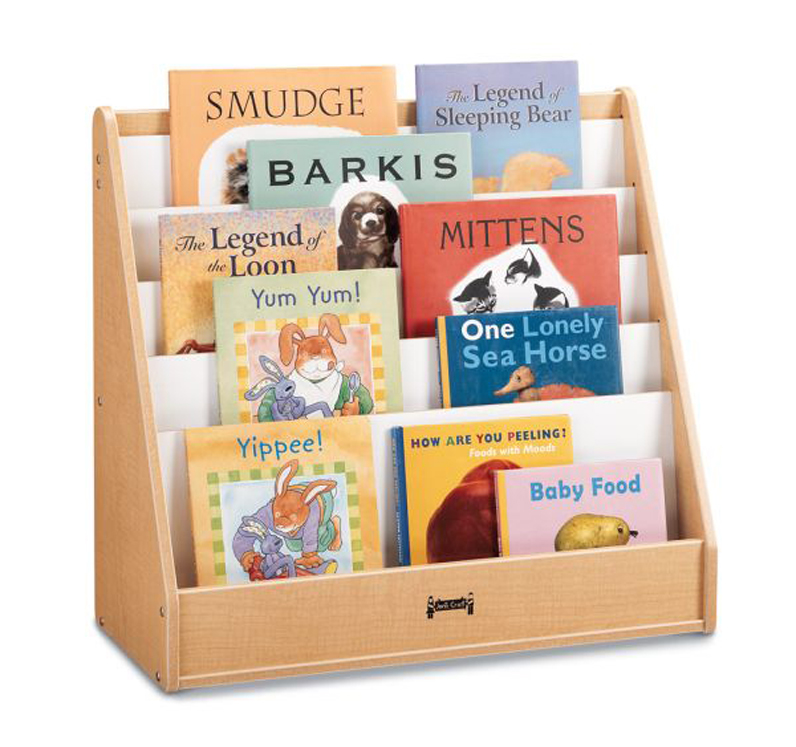 Maple Wave Flushback Pick-A-Book Stand - 1 Sided