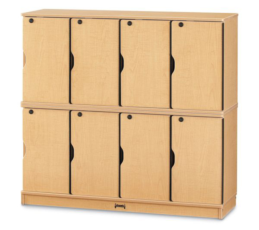 MapleWave Stacking Lockable Lockers - Double Stack