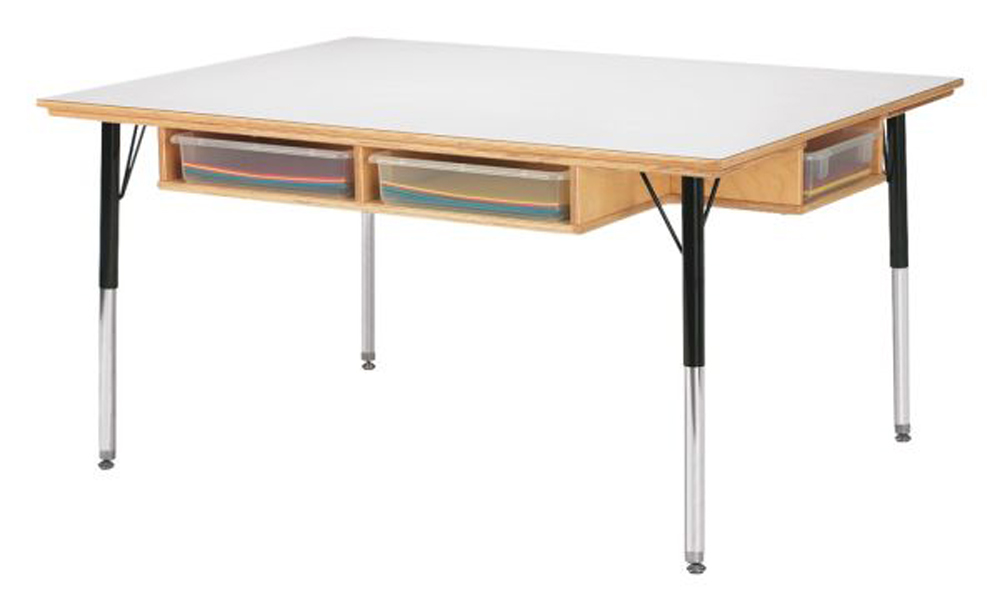Table with Storage - 6 - 15