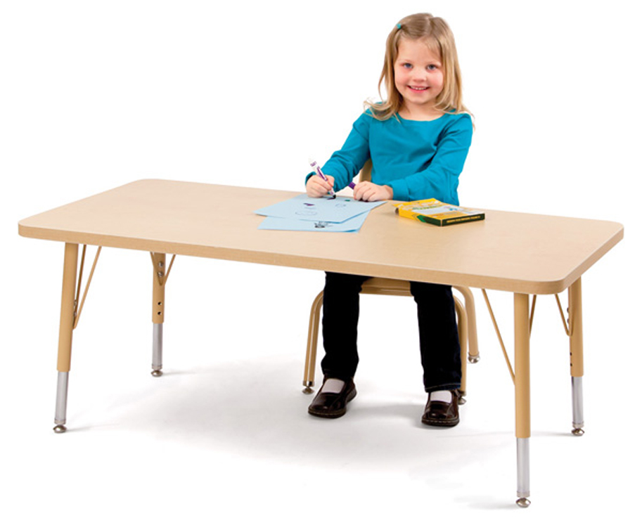 Berries  Rectangle Activity Table Collection - Multiple Sizes, Shapes and Colors
